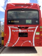 A hydrogen powered London Bus