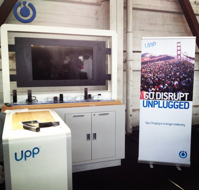Upp at TechCrunch Disrupt